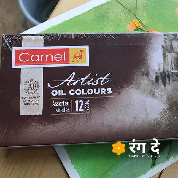 Buy Artist Oil Colours Camlin. Assorted colour tube set to start your oil painting journey. Buy online from Rang De Studio