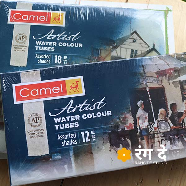Buy Camlin assorted water colours tube sets online