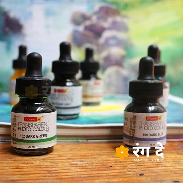 Buy Camlin Photo Colours Online by Rang De studio