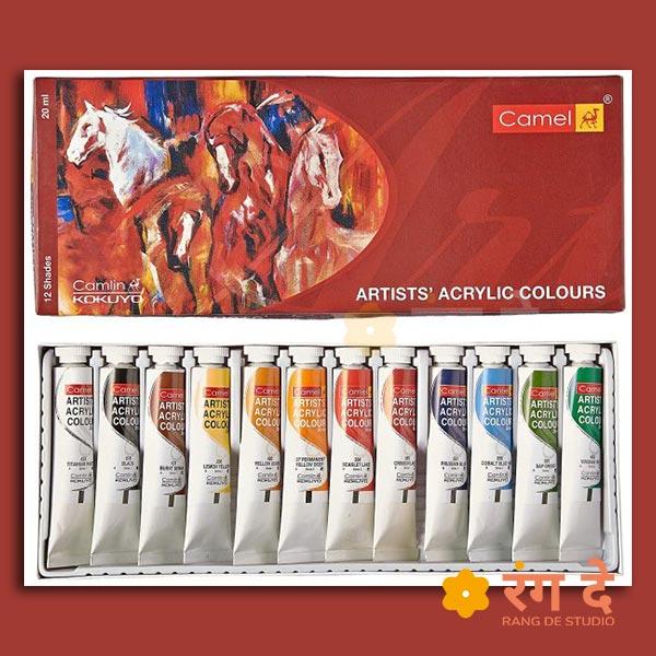 Camlin Acrylic Colours - 20ml
