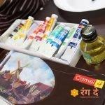 Buy original camlin oil colours online