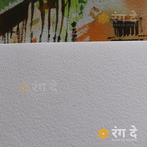 Chitrapat-handmad-Paper-Rough-270gsm,-a5,-a4,-half-imperial-sizes--by-Rang-De-Studio,-Bangalore
