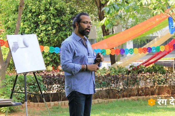 Corporate Team Art Workshops by Rang De Studio Bangalore