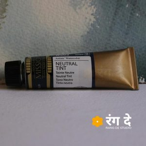 Mijello-Mission-Gold-Professional-Grade-Watercolour-15-ml-Neutral-TInt-by-Rang-De-Studio