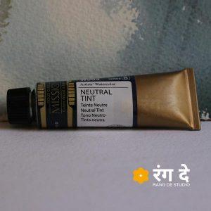 Mijello-Mission-Gold-Professional-Grade-Watercolour-15-ml-Neutral-TInt-by-Rang-De-Studio