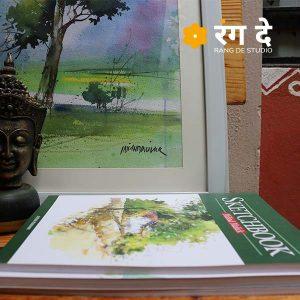Art books - Sketch book by Milind Mulick