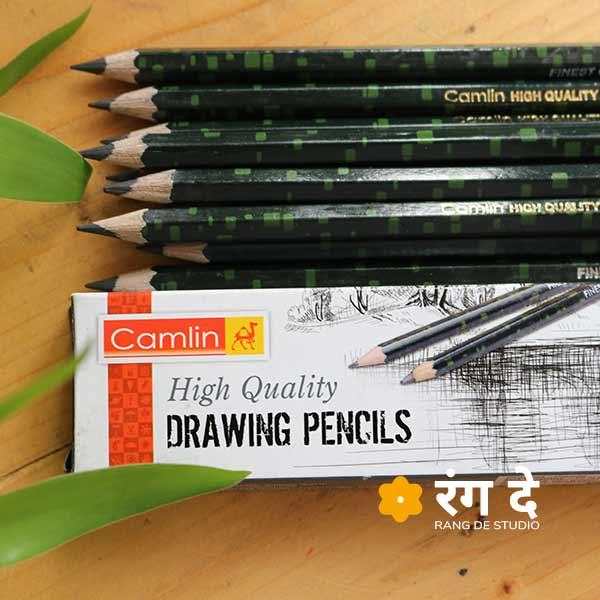 Camlin Drawing Pencils   Graphite   Buy online   Rang De Studio