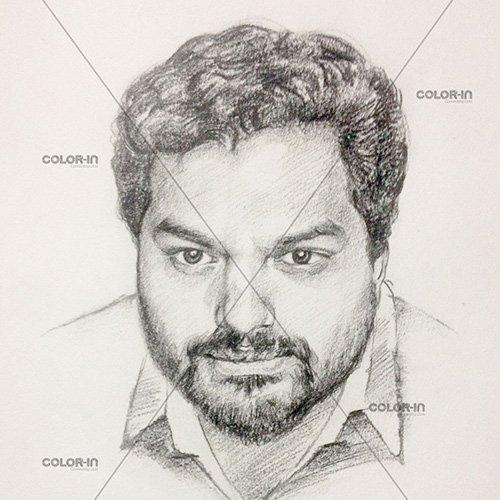 Get a pencil portrait done
