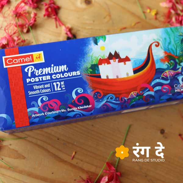 Buy Brand New Camlin Premium Poster Colours online from Rang De Studio