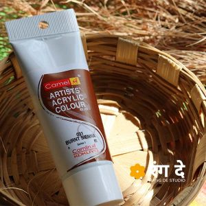 Buy Burnt Sienna Artists Acrylic Colours Online from Rang De Studio