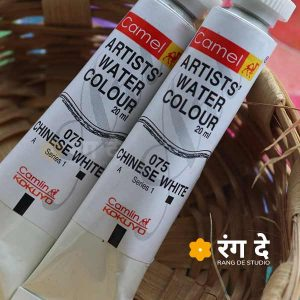 Buy Camlin Chinese White Artst Watercolor Online From rang De studio