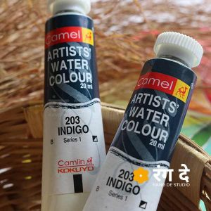 Buy Camlin Indigo Watercolour Shades online from Rang De studio