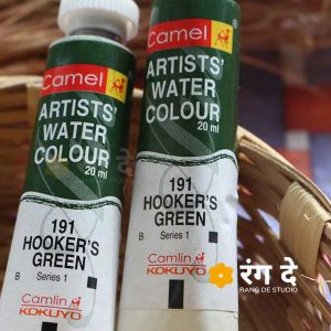 Buy Hookers Green artist watercolour shade online from Rang De Studio
