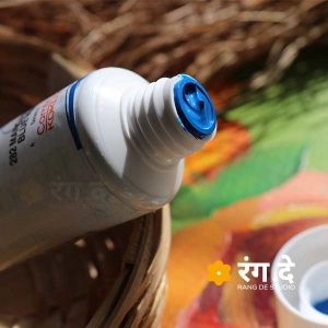 Buy Manganese Blue Hue Artists Acrylic Colour Camlin Online from Rang De Studio