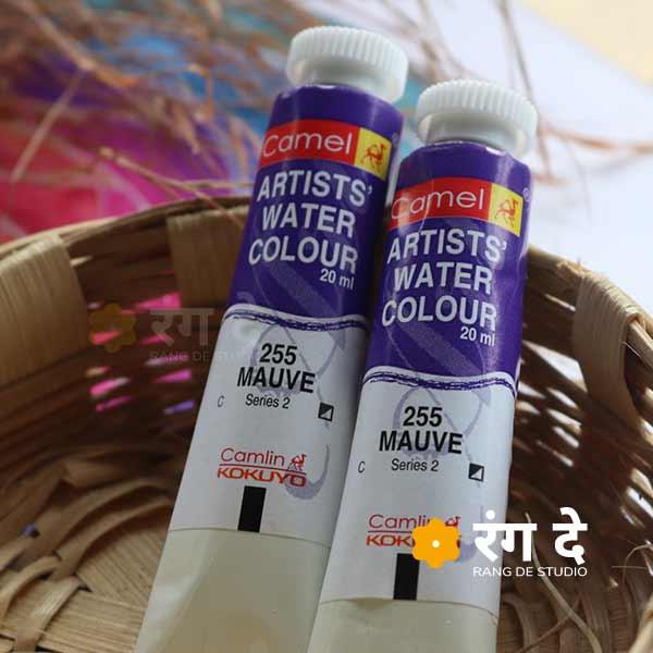 Buy Mauve Artist Watercolour Online | Rang De Studio