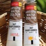Raw Umber Watercolor online _ Rang De studio