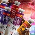 Buy tritiary Colours - watercolour Paints - Online - Rang De Studio