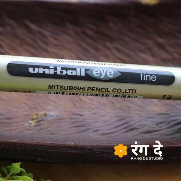 Uniball Eye - UB 157 - Fine Waterproof Pens Buy online from Rang De Studio