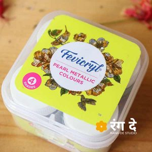 Buy Fevicryl Pearl Metallic Kit online from Rang De Studio