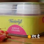 Shop fevicryl Acrylic Colours Set Online from Rang De Studio