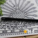 Pentonic Gel Pen, black Waterproof Pens Buy online from Rang De Studio, Best used for calligraphy, lettering, sketching, illustrations.