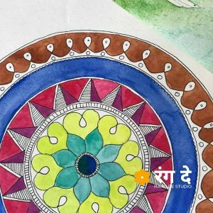 Mandala Art Kit from Rang De Studio - Buy Online