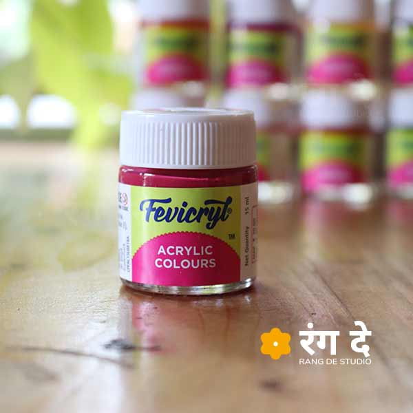 Get Fevicryl Acrylic Colours - Single 15ml Bottles - Online from Rang De Studio