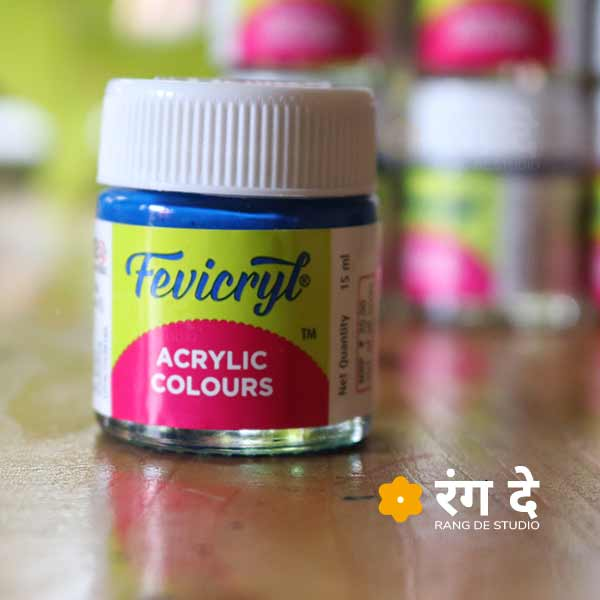 Buy Fevicryl Acrylic Colours - Single 15ml Bottles - Online from Rang De Studio