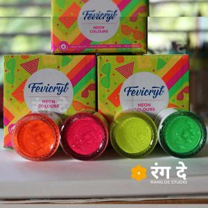Buy Fevicryl Neon Colours online from Rang De Studio