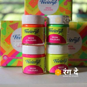 Buy Fevicryl Neon Colours online from Rang De Studio