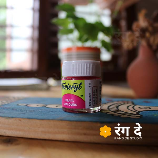 Buy Fevicryl Pearl Colours, Acrylic Colours online from Rang De Studio.